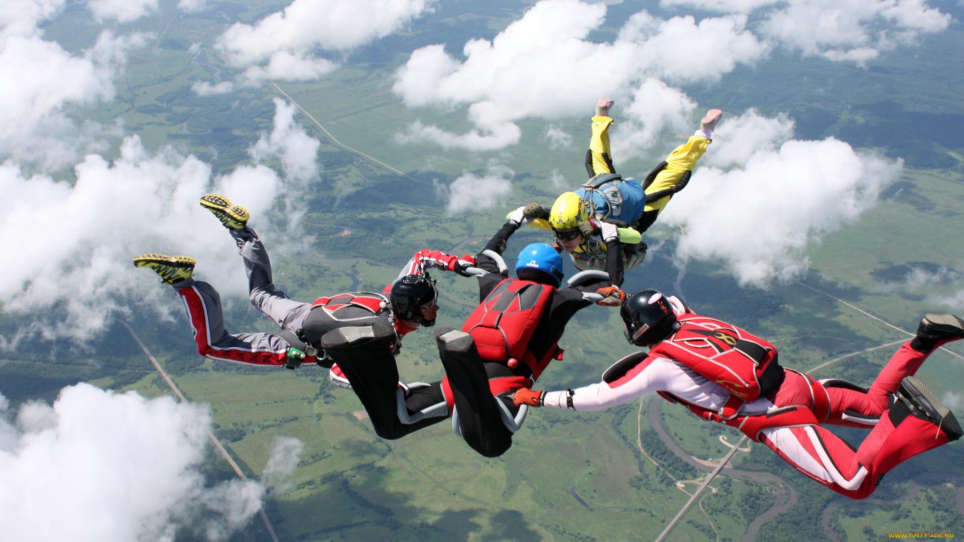 Картинки на тему парашютный спорт